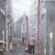 Vertical Mushroom Garden in the city